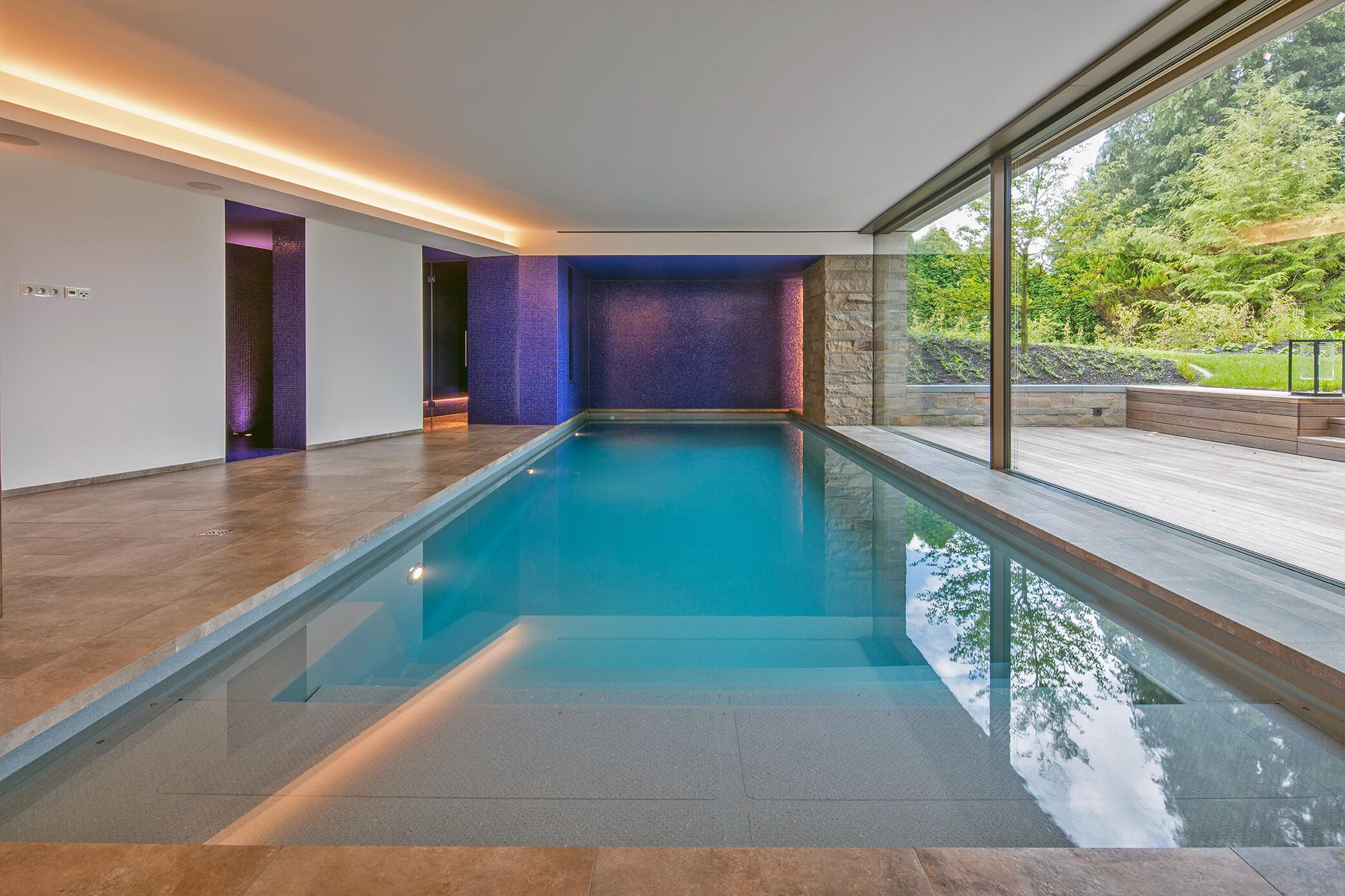 Indoorpools - Steinbauer GmbH - Ospa Schwimmbadbau Heizung ...